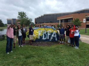 Students from the Fundamental Baptist Fellowship Association visit Cedarville University and make their mark!