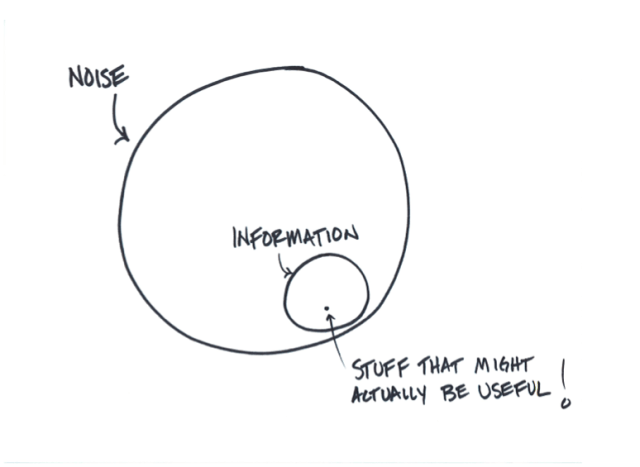 Noise and Information