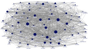 Network of 100 Twitter Accounts Displayed on the Bloomberg Terminal