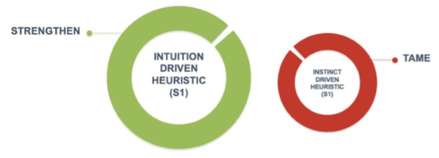 Intuition vs. Instinct-Driven Heuristics
