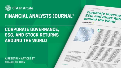 Corporate Governance, ESG, and Stock Returns around the World