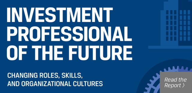 Investment Professional of the Future report graphic