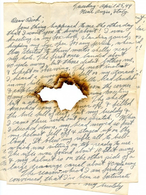 Preserving History Through Letters CAWL on NPR  Andrew