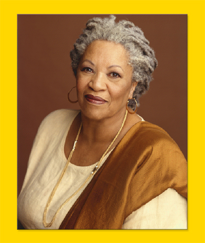 Toni Morrison; photo credit: ToniMorrisonSociety.org