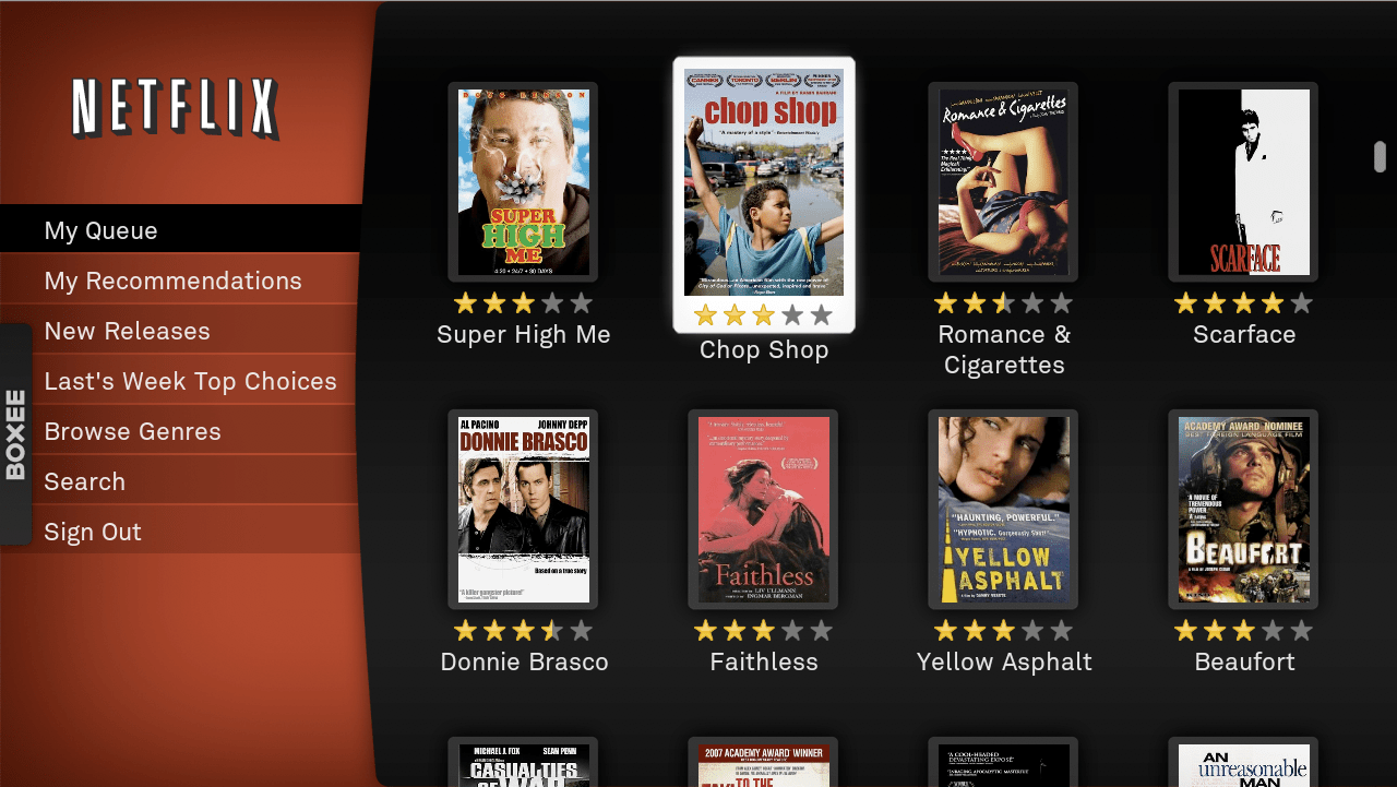 FINAL PROJECT Netflix and Video Streaming The remediation of the video rental store into the