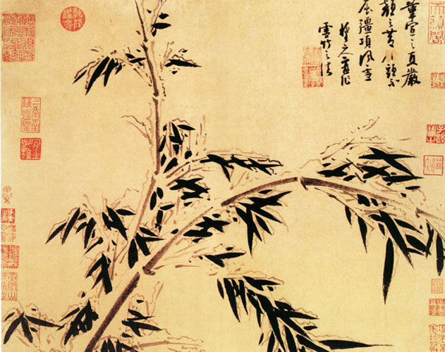 Chinese Literati Paintings Behind Symbols  CCTP748