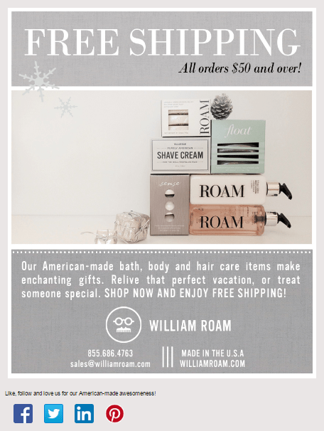 holiday-email-idea-free-shipping