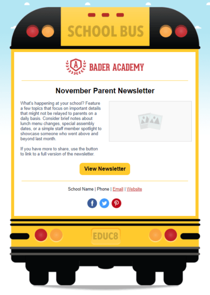 Free child care newsletter templates that can be programmed and. How To Create A Daycare Newsletter That Gets Noticed Constant Contact