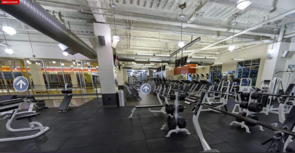 Sell gym memberships with a virtual tour