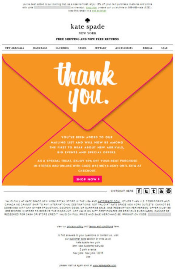 great email designs use color to hook a reader's emotion