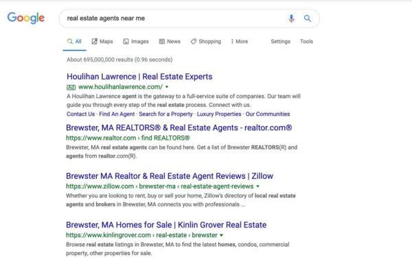 Real estate SEO