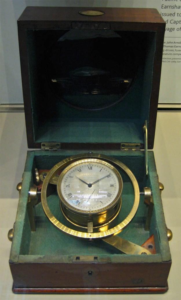 One of 24 Marine Chronometers carried aboard HMS Beagle.