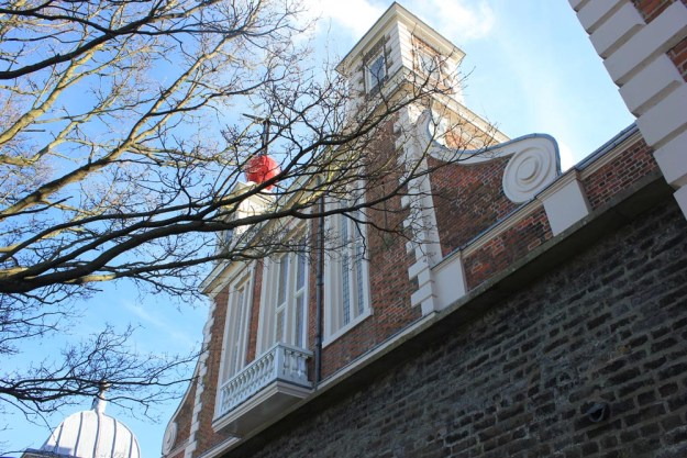 Astronomer Royal's Balcony and the 1pm time-ball used by ships to set their chronometers