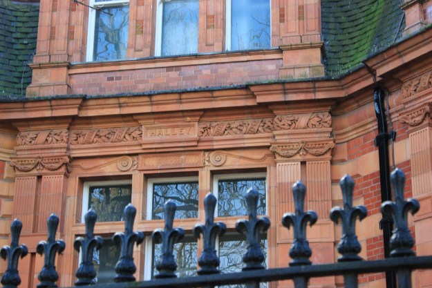 The names of Royal Astronomers decorate the Building