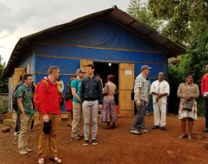 """""""A Joyful Return"""": Pastor Training and Student Ministry in Cameroon"""