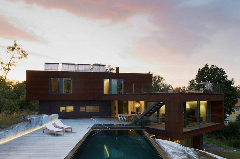 Une maison de luxe par DAPstockholm  Archiboom larchitecture et le design par ceux qui les