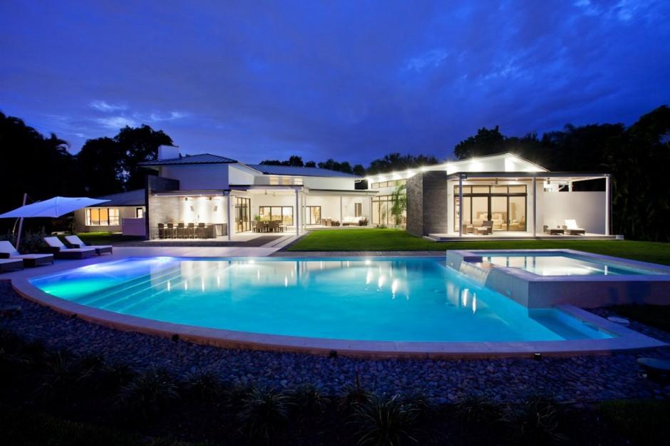 Eblouissante villa en Floride  Archiboom larchitecture et le design par ceux qui les font