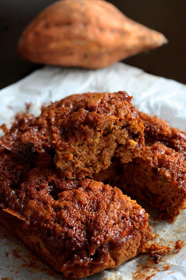 Gteau  la patate douce chocolat et caramel au beurre sal  Cuisine en Scne le blog cuisine