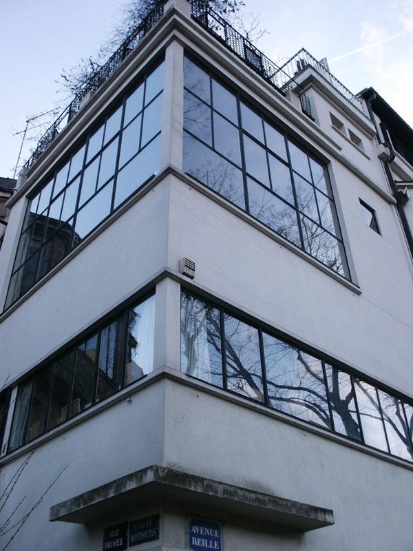 VillaAtelier Ozenfant par Le Corbusier  Mademoiselle Ccile  Design Dcoration Architecture