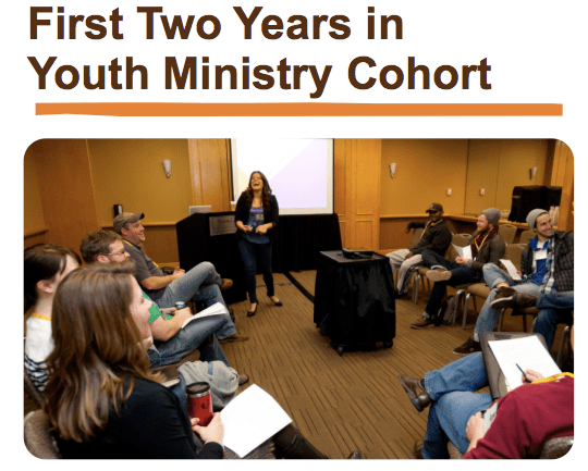 Youth Ministry Cohort  ECC  Youth Worker Update