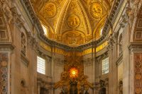 The Apse of St. Peters Basilica  Experiencing The Divine