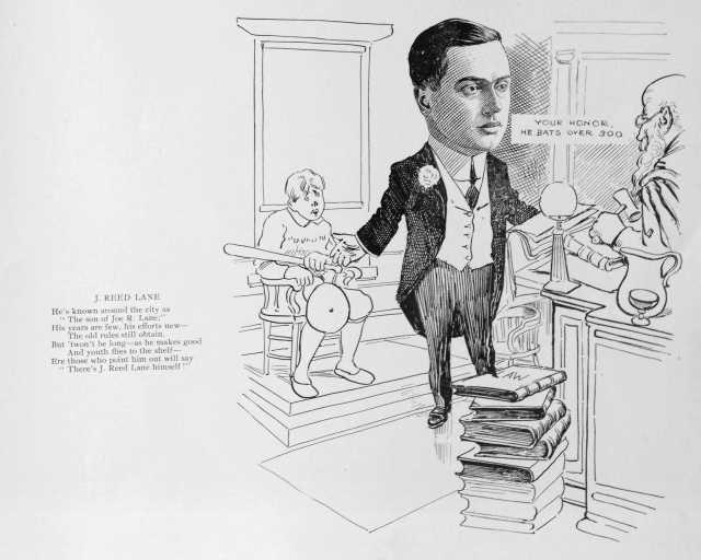 James Reed Lane (1889-1955), lawyer, son of Joe R. Lane.