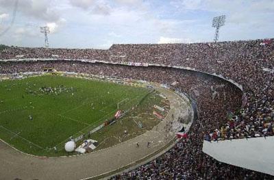 Arruda lotado na rodada final da Série B de 2005
