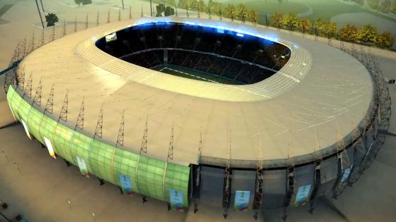 Castelão. Crédito: game Fifa World Cup 2014/EA Sportsa