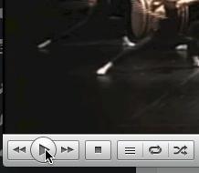 VLC Play button