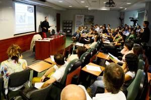 Las sesiones se hacen simultáneamente en diferentes salas de la sede de Barcelona de EADA.