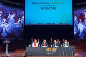 El Palau de la Múscia Catalana volvió a acoger un año más la ceremonia de inauguración del año académico de EADA 2015-16.