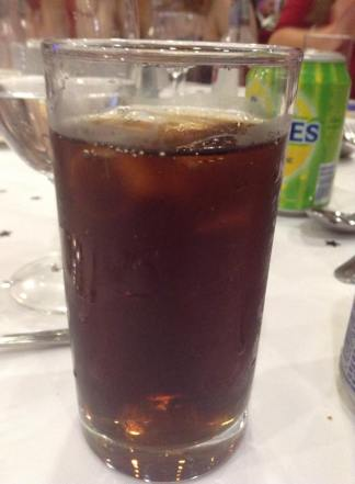 The diet pepsi with coke that cost me £9.60