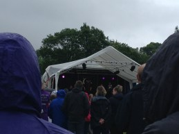 As you can see it was a very wet opening ceremony...
