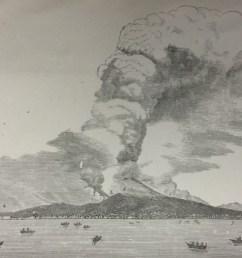 vesuvius in eruption april 26 1872  [ 1600 x 1059 Pixel ]