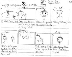 Script, Storyboard, Movie