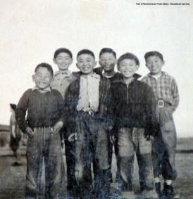 Kids in Topaz