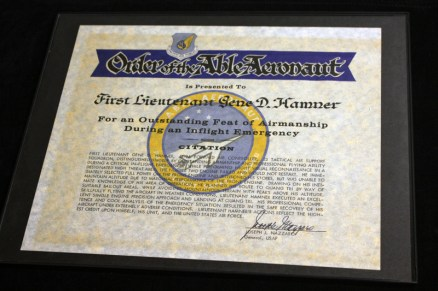 Order of the Able Aeronaut - Outstanding Feat of Airmanship During an Inflight Emergency - Recognition Award