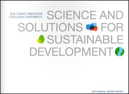 Science and Solutions for Sustainable Development: 2013