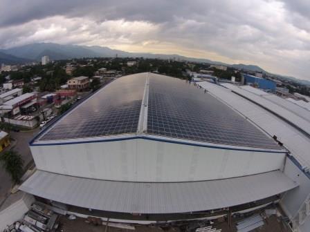 Energía solar en Honduras: el techo de Embotelladora de Sula