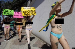 Pussy Riot, Vladimir Putin, HBO, Madonna, Sting, Amnistia internacional, Els bastards