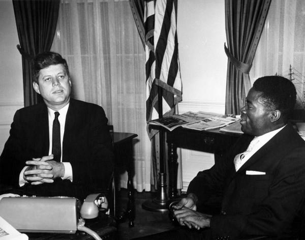 President_John_F._Kennedy_with_Ambassador_of_Gabon,_Joseph_Ngoua_(JFKWHP-AR6444-A) (1)