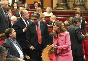 EL PARLAMENT CELEBRA UN PLENO MARCADO POR LA SUSPENSIÓN DE LA DECLARACIÓN DE SOBERANÍA-0INY1415.jpg-
