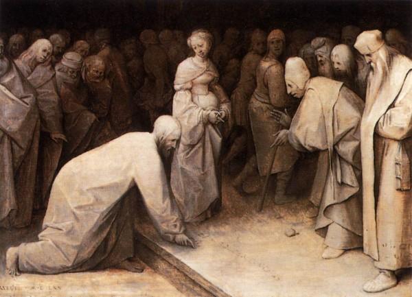 Pieter_Bruegel_the_Elder_-_Christ_and_the_Woman_Taken_in_Adultery_-_WGA03469