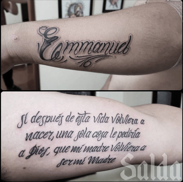 Tatuadores De Lettering Que La Rompen En Colombia Blogs El Tiempo