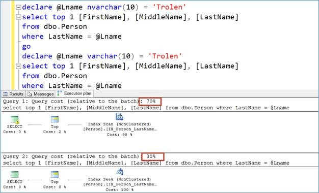 Select statements compared
