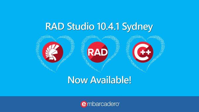 RAD Studio 10.4 Update 1