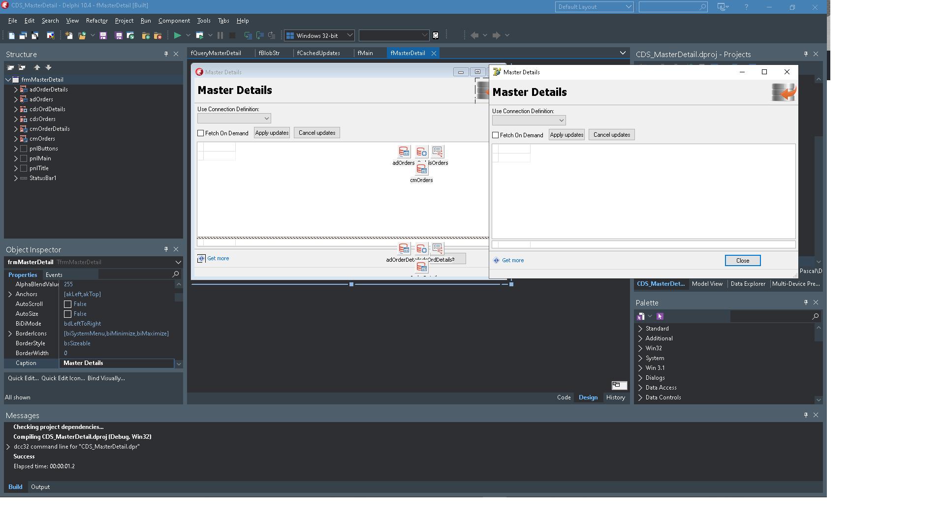 Quickly Set Up Flexible Master-Detail Relationships Between Datasets In Delphi Apps