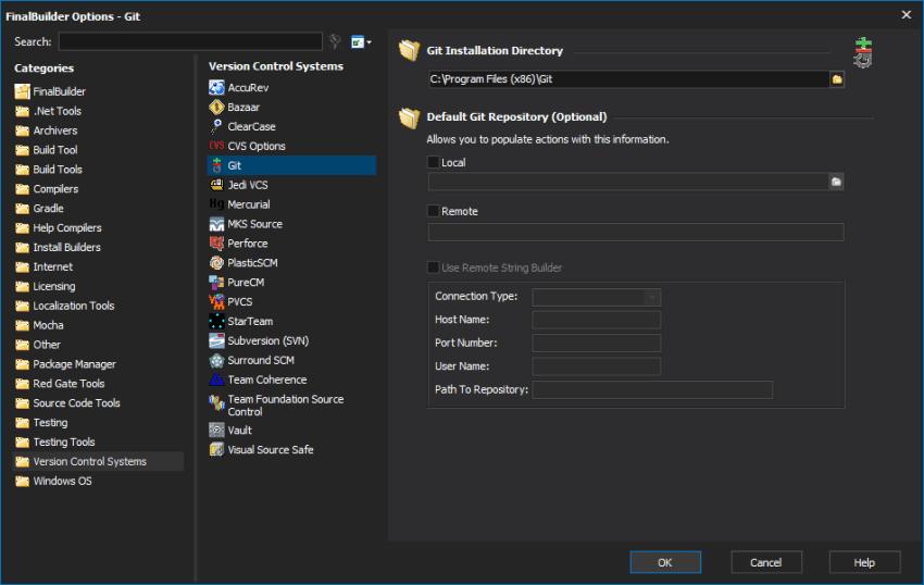 finalbuilder-options
