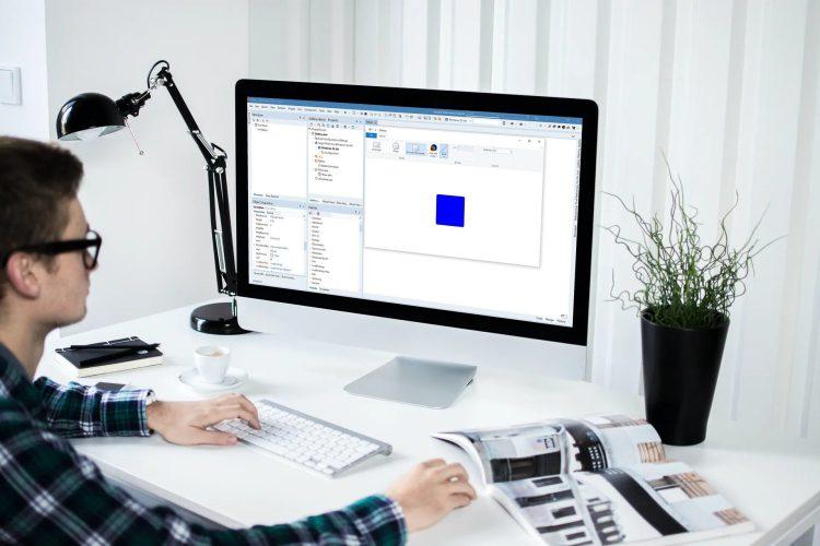 Windows Ribbon Framework in use screenshot