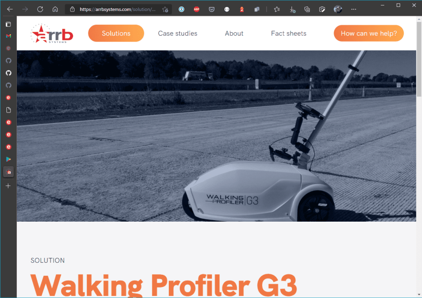 This High-Accuracy Walking Profiler Measures Reality - ARRB Systems Website